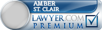 Amber L. St. Clair  Lawyer Badge