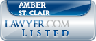 Amber St. Clair Lawyer Badge
