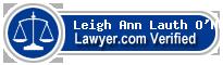 Leigh Ann Lauth O'Neill  Lawyer Badge
