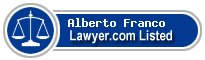 Alberto Franco Lawyer Badge