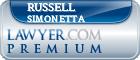 Russell S. Simonetta  Lawyer Badge