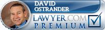 David W. Ostrander  Lawyer Badge
