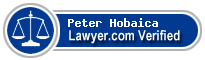 Peter W. Hobaica  Lawyer Badge