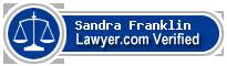 Sandra Franklin  Lawyer Badge