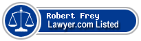 Robert Frey Lawyer Badge
