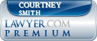 Courtney H. Smith  Lawyer Badge