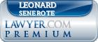 Leonard A Senerote  Lawyer Badge