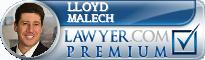 Lloyd A. Malech  Lawyer Badge
