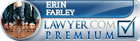 Erin Patricia Farley  Lawyer Badge