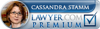 Cassandra Stamm Lawyer Badge