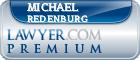 Michael J. Redenburg  Lawyer Badge