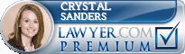Crystal A. Sanders  Lawyer Badge