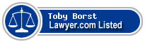 Toby Borst Lawyer Badge