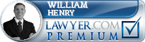 William L. Henry  Lawyer Badge