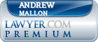 Andrew J. Mallon  Lawyer Badge