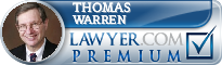 Thomas J. Warren  Lawyer Badge