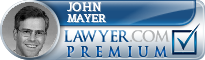 John Ross Mayer  Lawyer Badge