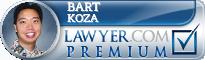 Bart M. Koza  Lawyer Badge
