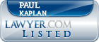 Paul Kaplan Lawyer Badge