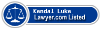 Kendal Luke Lawyer Badge