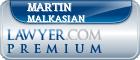 Martin Malkasian  Lawyer Badge