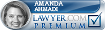 Amanda L. Ahmadi  Lawyer Badge