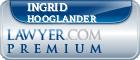 Ingrid Marie Hooglander  Lawyer Badge