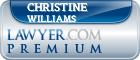 Christine A. Williams  Lawyer Badge