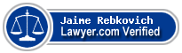 Jaime L. Rebkovich  Lawyer Badge