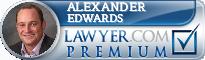 Alexander Christopher Edwards  Lawyer Badge