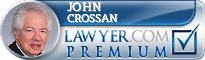 John R. Crossan  Lawyer Badge