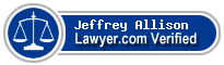 Jeffrey B. Allison  Lawyer Badge