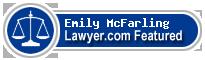 Emily McFarling  Lawyer Badge