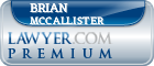 Brian F. McCallister  Lawyer Badge