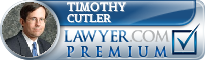 Timothy Cutler  Lawyer Badge
