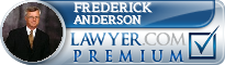 Frederick B. Anderson  Lawyer Badge