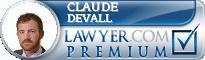 Claude P. Devall  Lawyer Badge