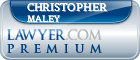 Christopher J. Maley  Lawyer Badge