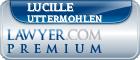 Lucille P Uttermohlen  Lawyer Badge