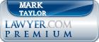 Mark C. Taylor  Lawyer Badge