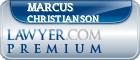 Marcus J. Christianson  Lawyer Badge