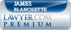 James A. Blanchette  Lawyer Badge