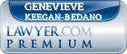 Genevieve E. Keegan-Bedano  Lawyer Badge