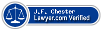 J.F. (Jim) Chester  Lawyer Badge