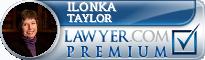 Ilonka Sonja Taylor  Lawyer Badge
