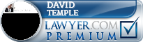 David A. Temple  Lawyer Badge