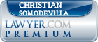 Christian Somodevilla  Lawyer Badge