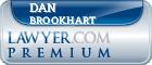 Dan M. Brookhart  Lawyer Badge