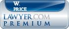 W. Robert Price  Lawyer Badge