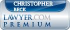 Christopher G. Beck  Lawyer Badge